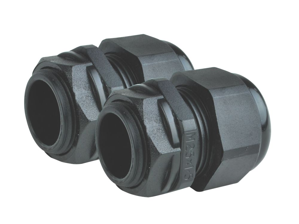 Tower  Male Comp Gland 20mm  2 Pack