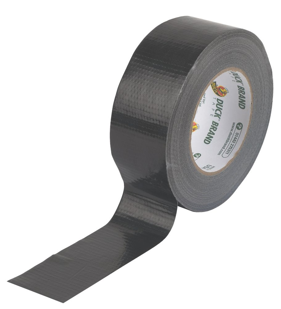 Duck Original Cloth Tape 50 Mesh Black 50m x 50mm