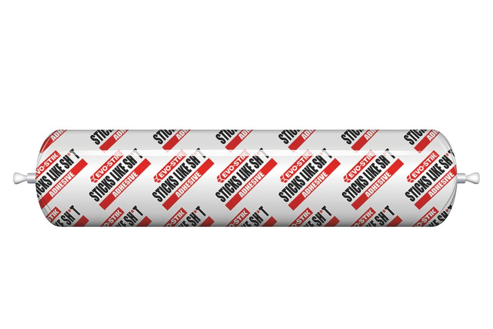 Evo-Stik 'Sticks Like Sh*t' Solvent-Free Grab Adhesive Clear 400ml