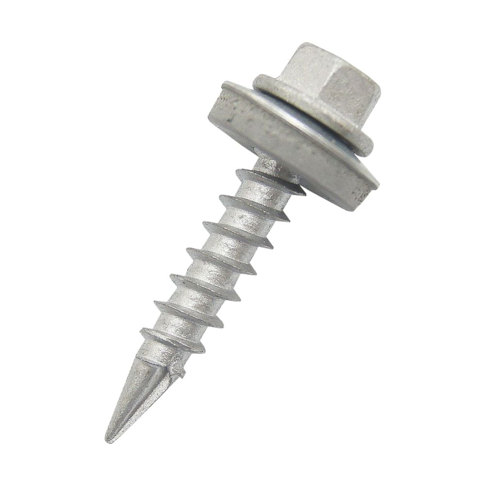 Easydrive Timber Roofing Double Slash Point Screws 6.3 x 60mm 100 Pack