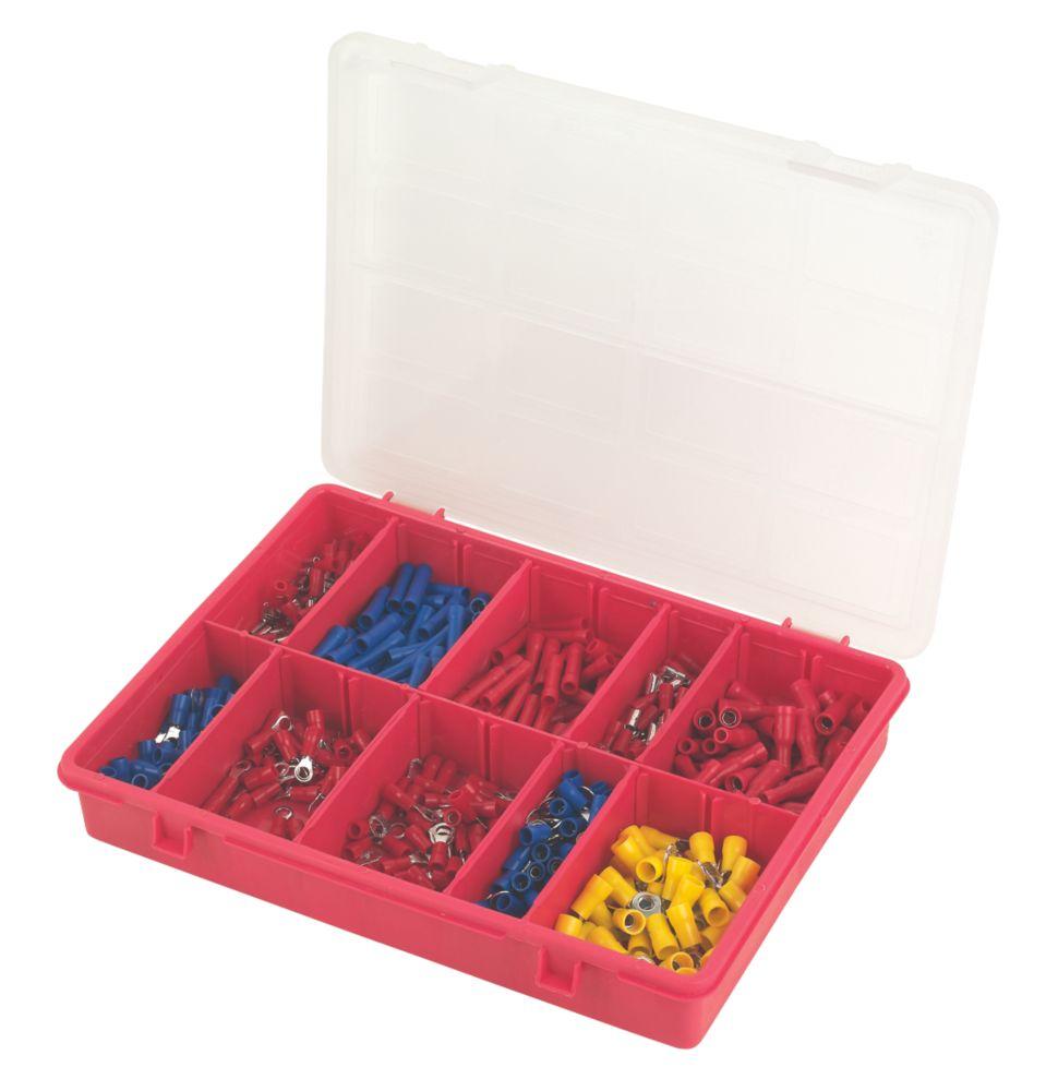 Crimp Terminals Pack 500 Piece Set