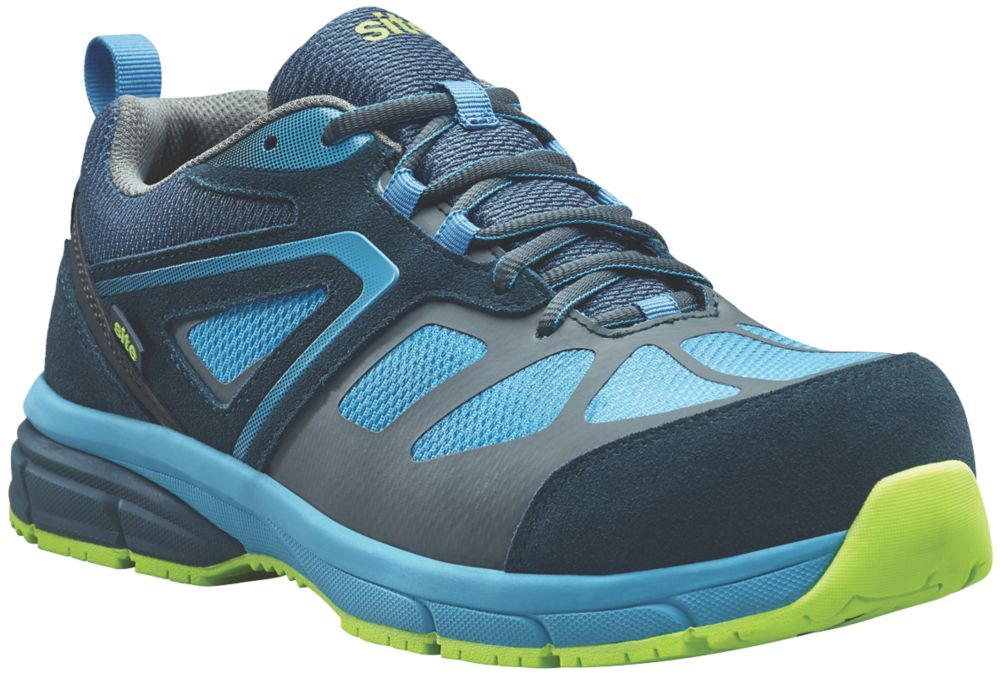 Site Eveite Metal Free  Safety Trainers Black / Blue Size 12