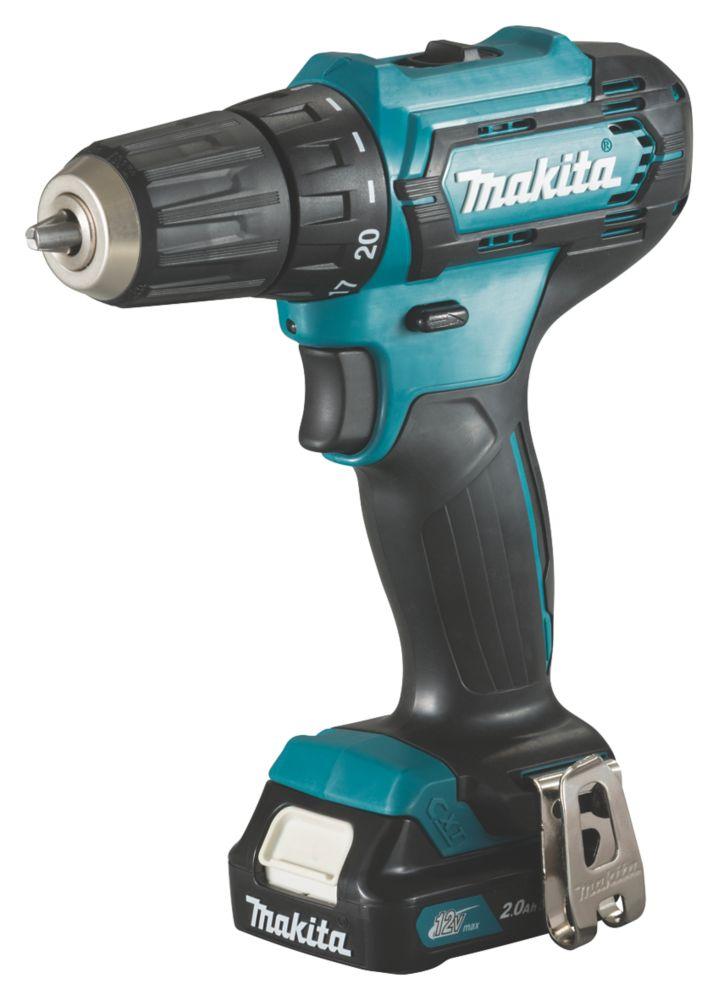 Makita DF333DWAE 12V 2.0Ah Li-Ion CXT  Cordless Drill Driver