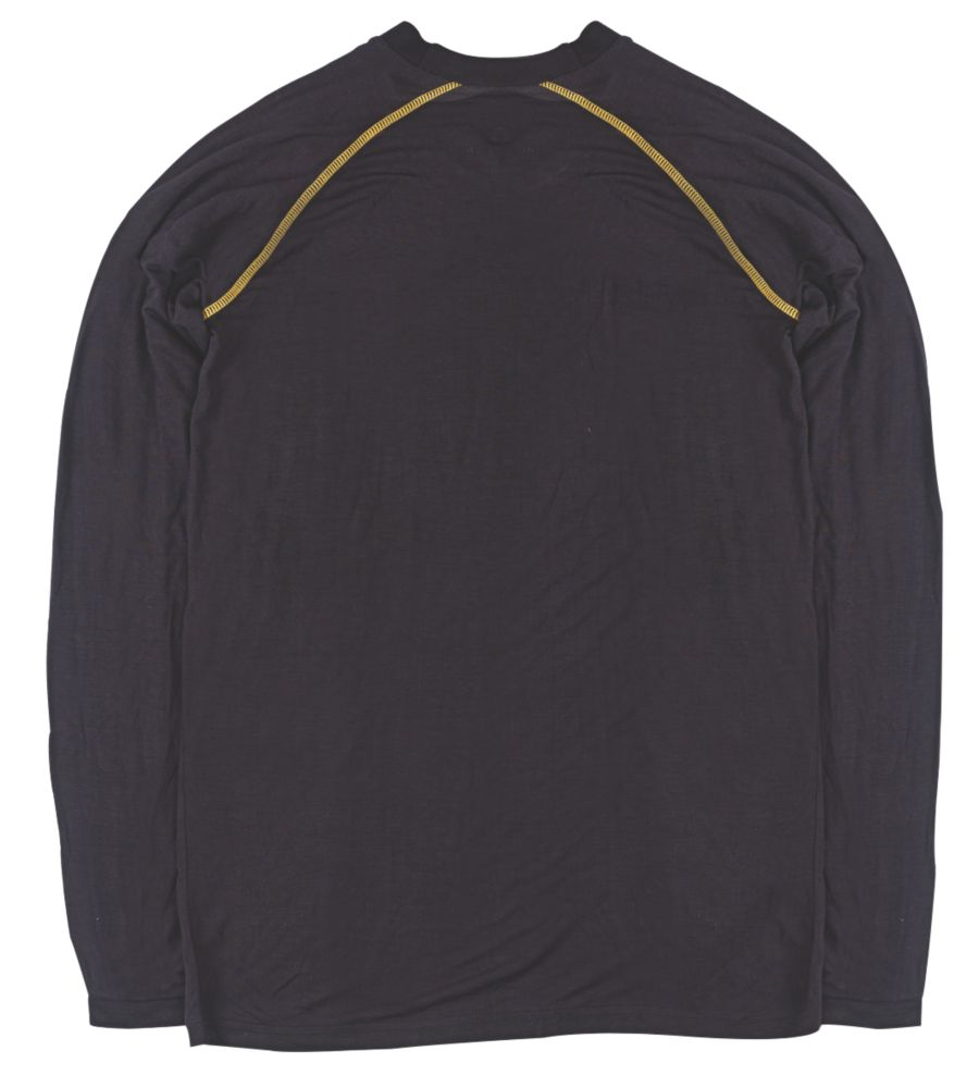 """Site  Base Layer Top Black Large 44"""" Chest"""