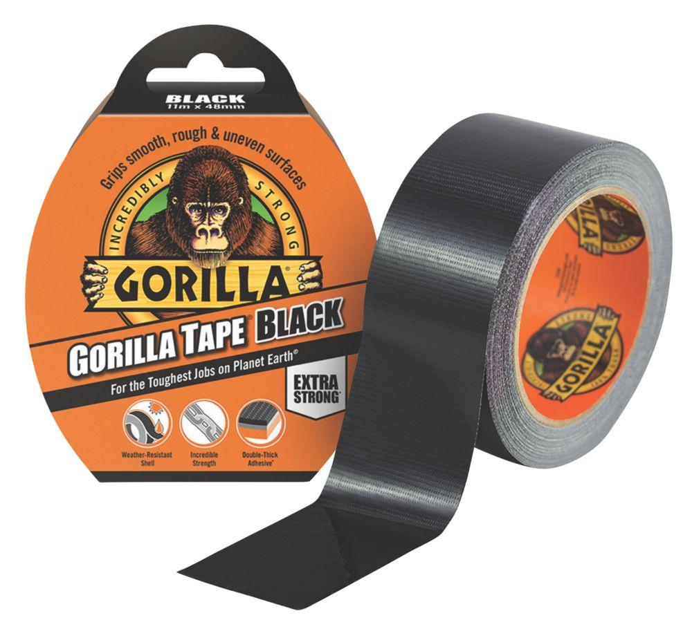 Gorilla Glue Cloth Tape 48 Mesh Black 11m x 48mm
