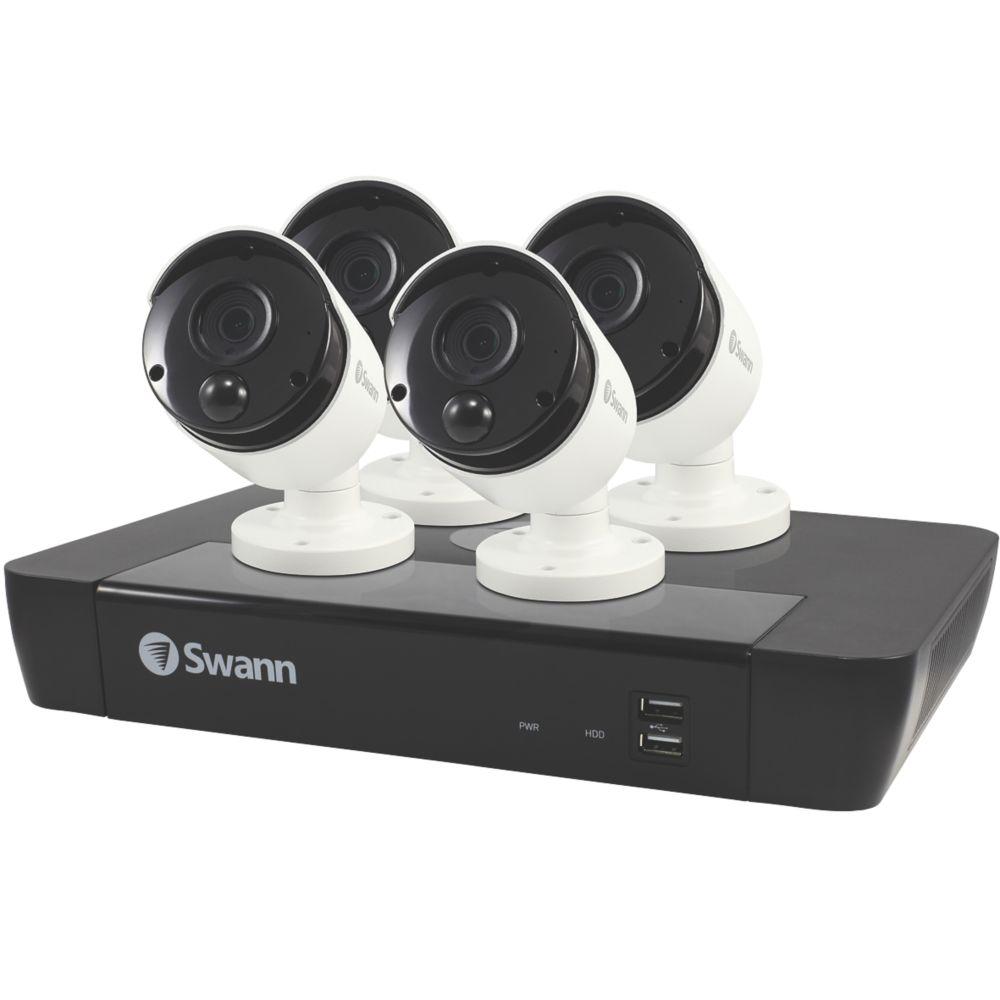 Swann SWNVK-885804-UK 8-Channel NVR CCTV Kit & 4 Cameras