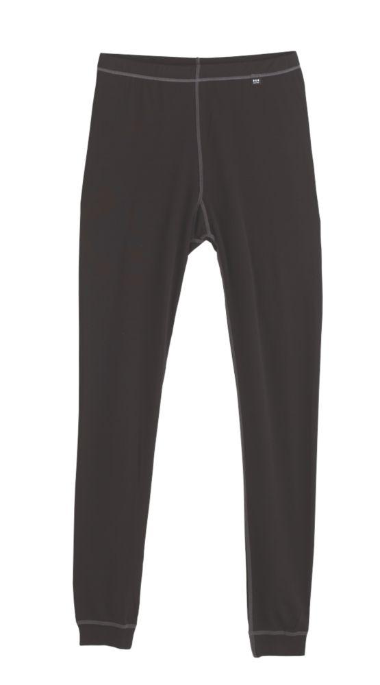 "Helly Hansen Kastrup Baselayer Trousers Black X Large 39½-41 "" W 33½-34 "" L"