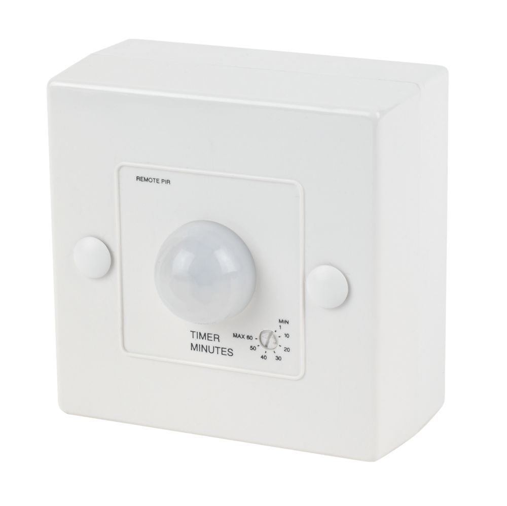 Manrose 1362 Passive Infra Red Bathroom Fan Control with Timer