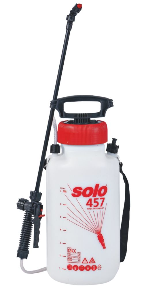 Solo SO457 White Manual Pressure Sprayer 7Ltr