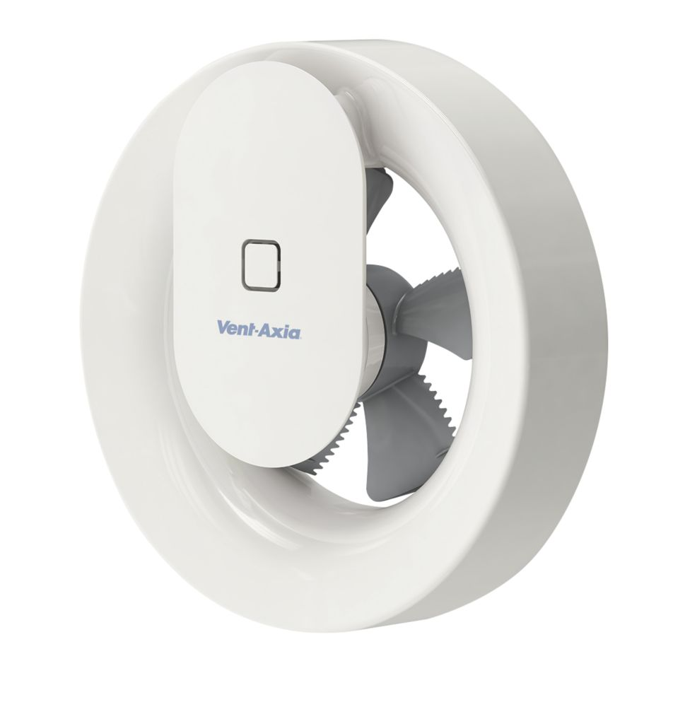 Vent-Axia Svara 409802 4W Bathroom Extractor Fan App Controlled White 240V