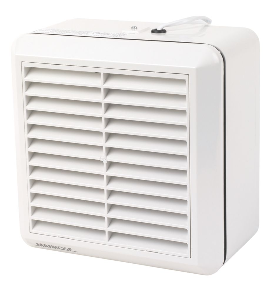 Manrose WF150A  Commercial Axial Kitchen Extractor Fan  White 220-240V