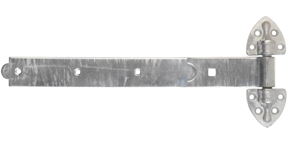 Smith & Locke Heavy Duty Reversible Gate Hinges Hot Spectra Galvanised 28 x 401 x 165mm 2 Pack