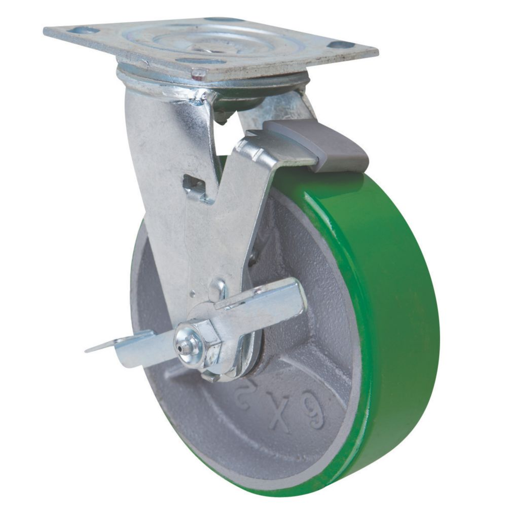Select Braked Swivel Castor 150mm