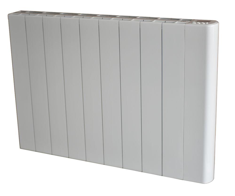 Wall-Mounted Dry Inertia Ceramic Heater White 2000W