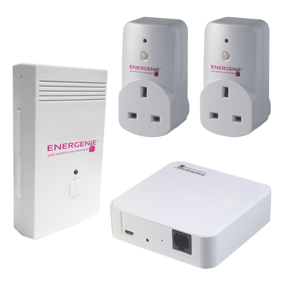 Energenie Energy Monitor Socket & Gateway Set