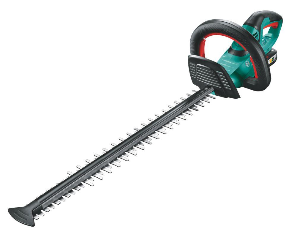 Bosch AHS 55-20 LI 55cm 18V 2.5Ah Li-Ion   Cordless Hedge Trimmer