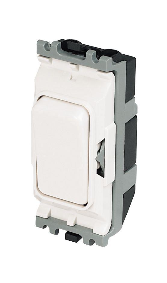 MK 20A Intermediate Grid Switch White