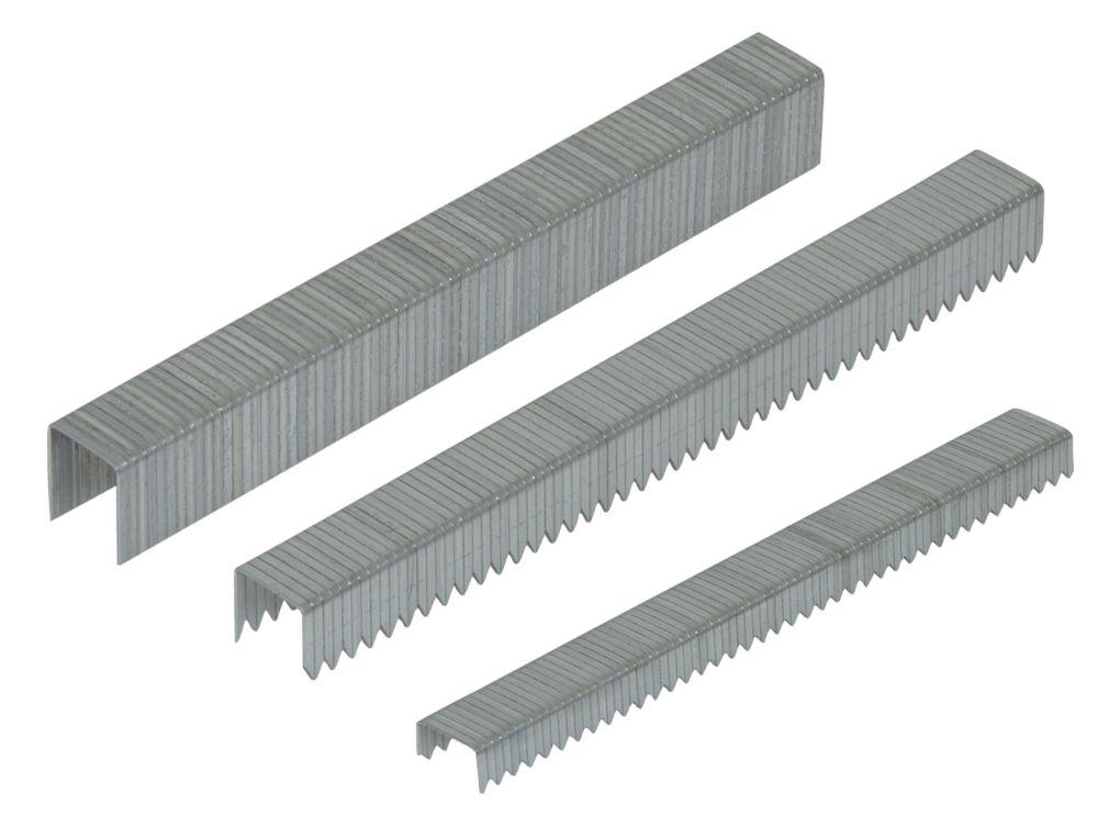Easyfix Staples Multi-Pack Zinc-Plated 1875 Pieces