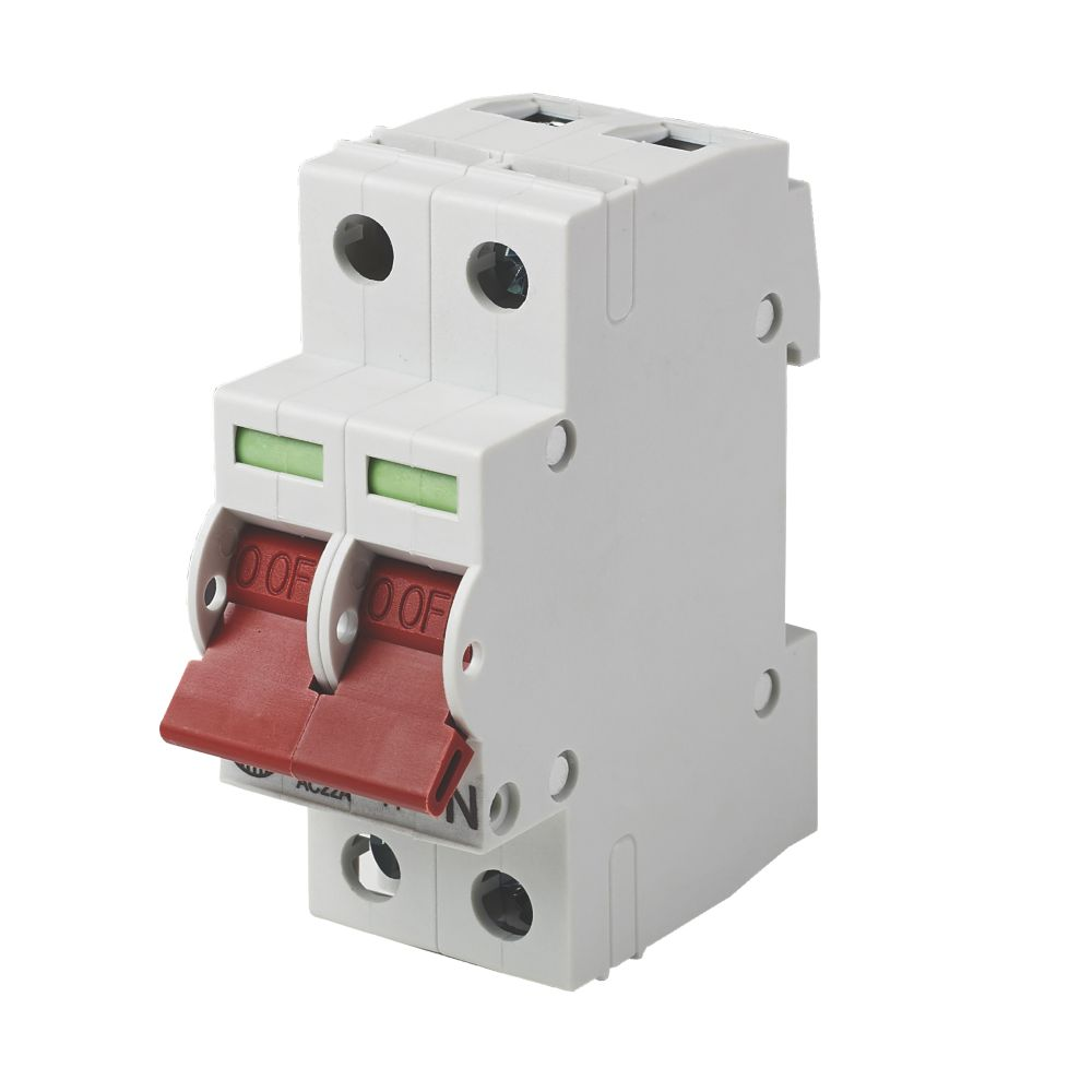 Wylex  125A DP 3-Phase Main Switch Disconnector Incomer
