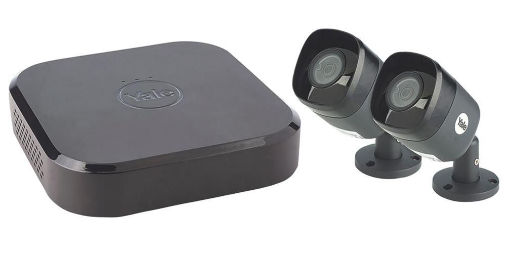Yale SV-4C-2AB4MX 4-Channel Full HD CCTV DVR Kit & 2 Cameras