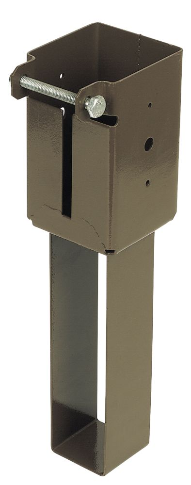 Sabrefix Concrete-In Post Supports 75 x 75mm 2 Pack