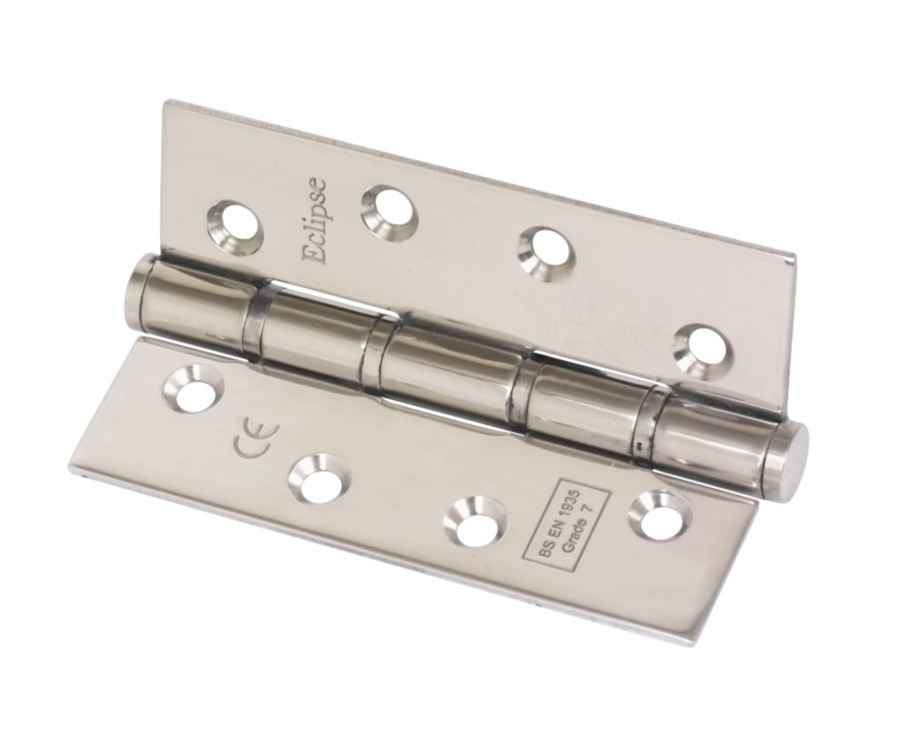 Eclipse Grade 7 Washered Fire Hinges Fire Rated 102 x 67mm 2 Pack