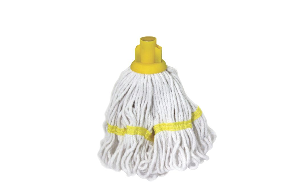 Bentley SF/HR/BS.35/Y Pure Yarn Cotton Mop Head Yellow 5 Pack