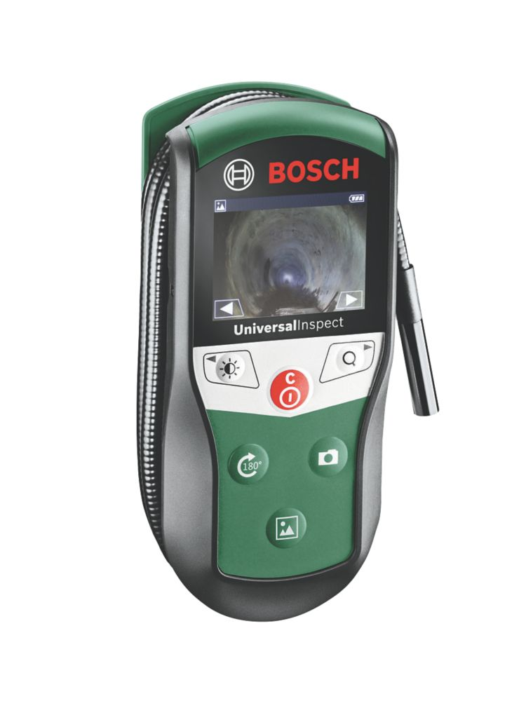 "Bosch UniversalInspect Inspection Camera With 2 1/3"" Colour Screen"