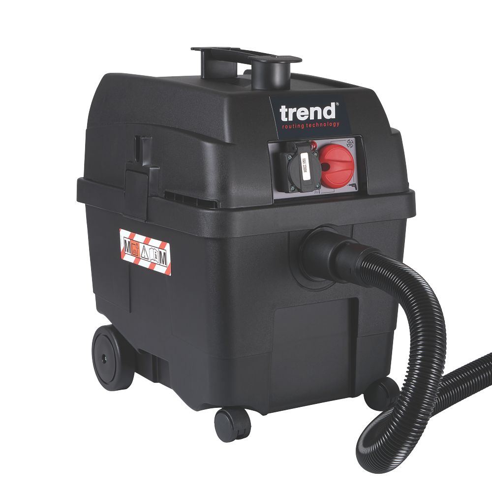 Trend T35A 70Ltr/sec Electric Wet and Dry M Class Dust Extractor 230V