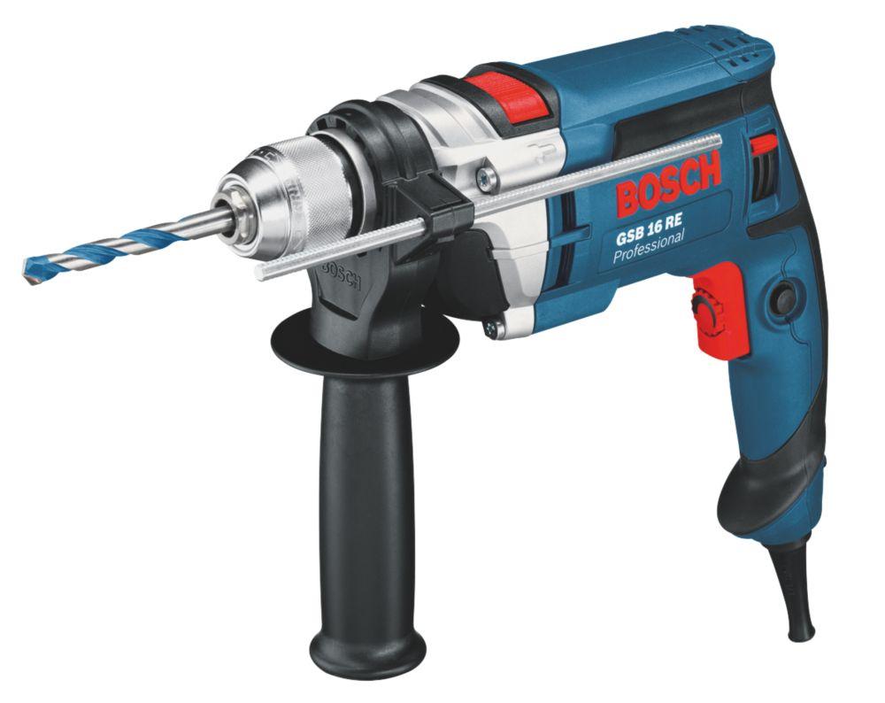 Bosch GSB 16 RE 750W  Electric Professional Percussion Drill 110V