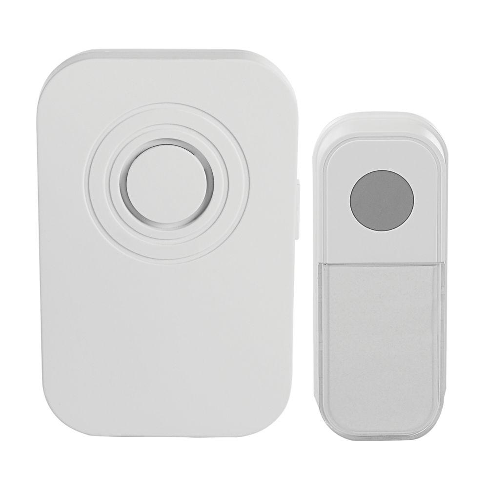 Blyss  100m Wireless Battery-Powered Door Chime Kit White