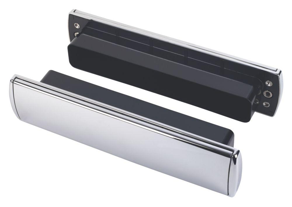 Mila Letterbox Chrome 310 x 76mm