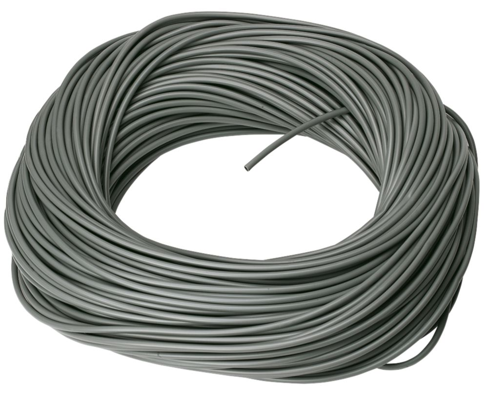 CED PVC Sleeving 3mm x 100m Grey