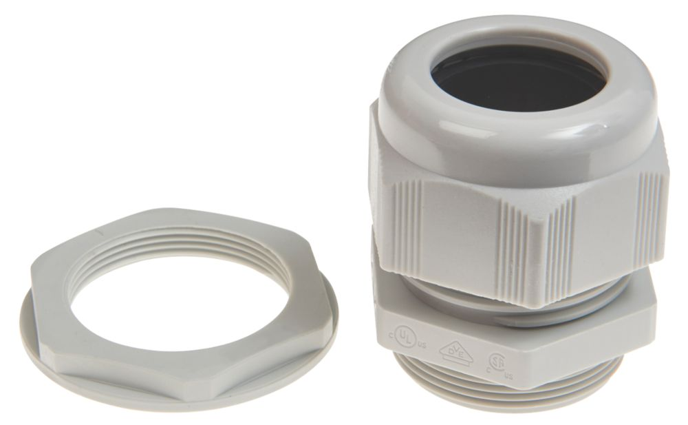 Schneider Electric Plastic Cable Glands  M25 10 Pack