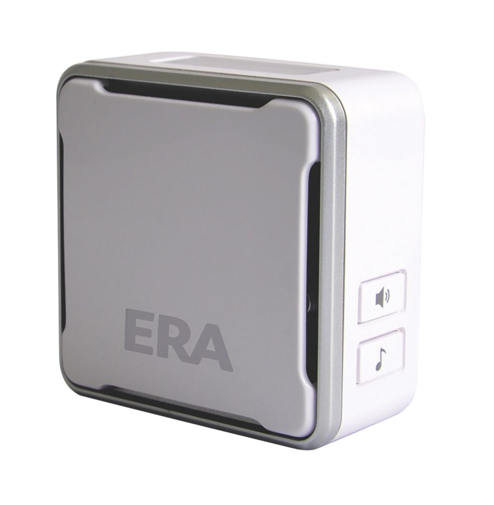 ERA Doorcam Wireless Plug-In Wi-Fi Door Chime White