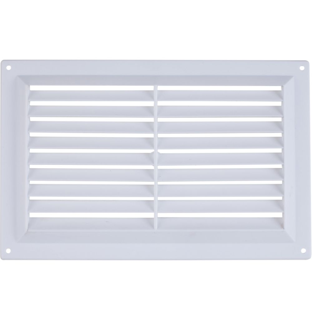 Map Vent Gas Louvre Vent White 229 x 152mm