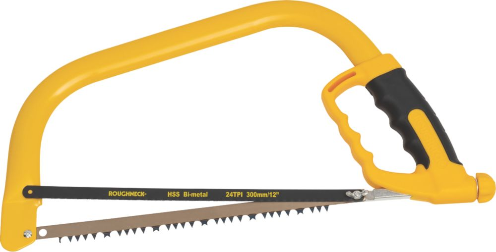 """Roughneck Bow Saw with Spare Blade 12"""""""