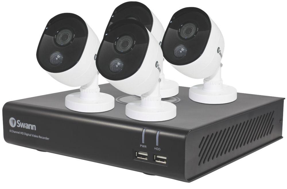 Swann SWDVK-844804V-UK 8-Channel 1080p CCTV DVR Kit & 4 Cameras
