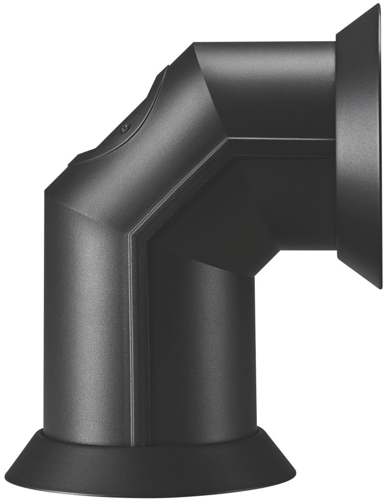 Focal Point  Decorative Electric Stove Pipe Black