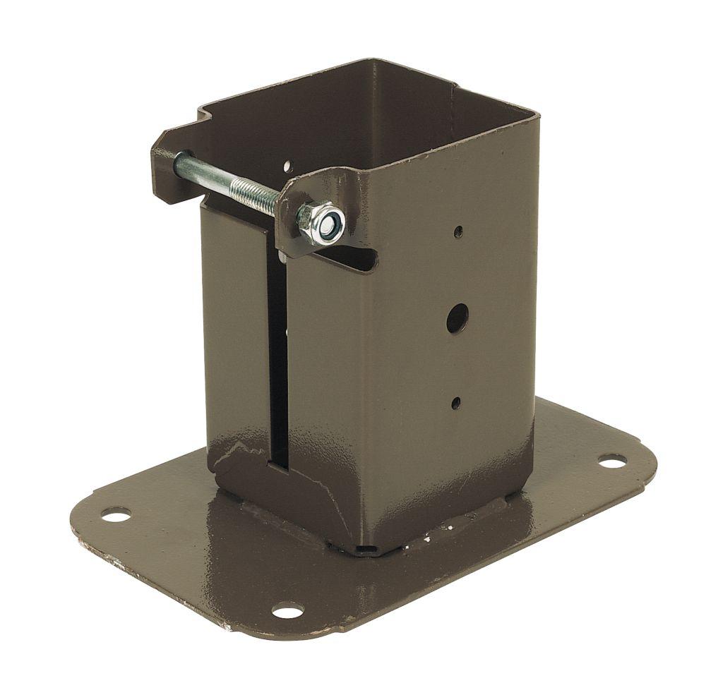 Sabrefix Bolt-Down Post Supports 75 x 75mm 2 Pack