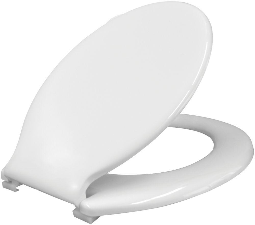 Carrara & Matta S12 Export Standard Closing Toilet Seat Thermoplastic White