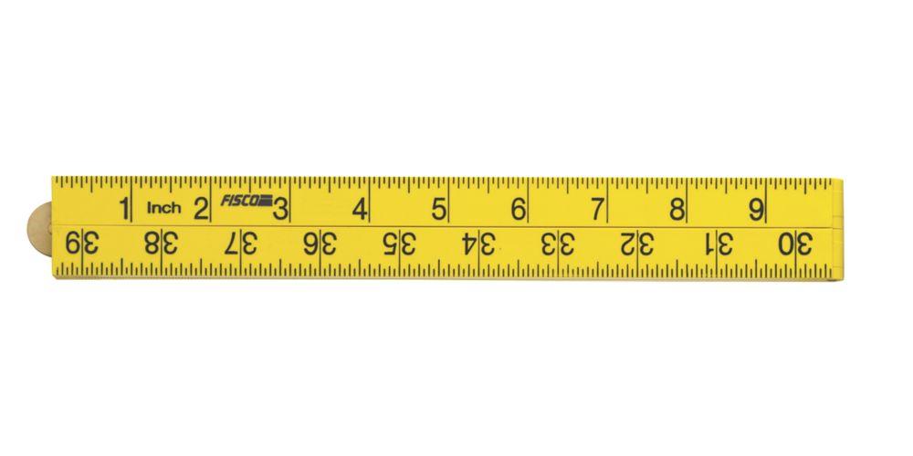 "Fisco XFY Handyman Ruler 39"" (1000mm)"