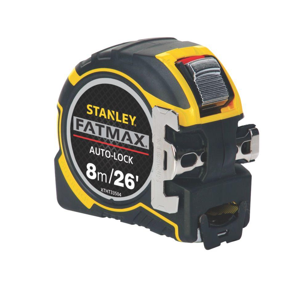 Stanley FatMax Autolock 8m Tape Measure