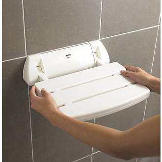 Bathroom Safety & Accessories Frud Wall Mounted Shower Seats Bathroom Shower Chair Shower Folding Seat Bath Shower Stool Toilet Folding Bench Chair